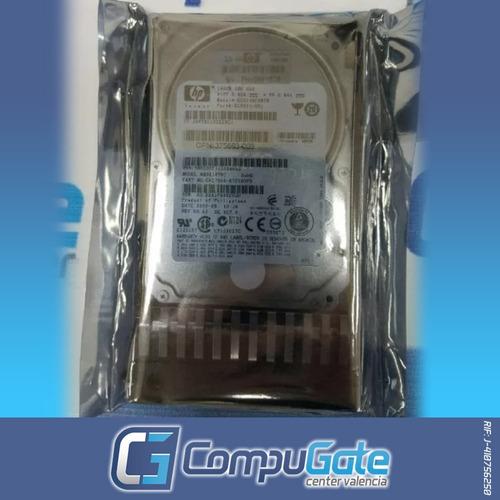 disco duro hp para servidor 146gb sas 3g/s 10k 2.5 g1- g7