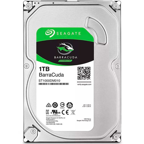 disco duro interno 1tb seagate st1000dm010 7200rpm sata pc