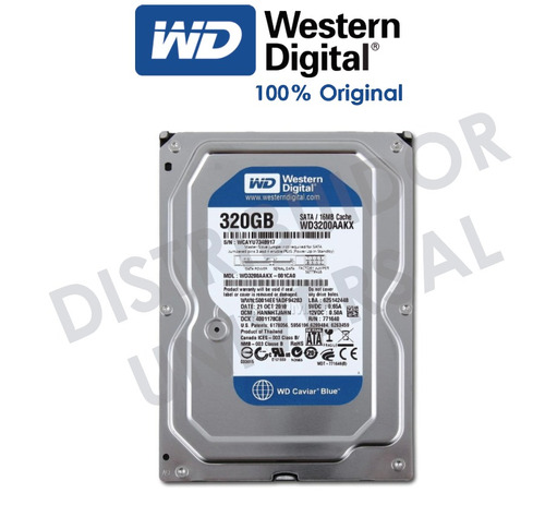 disco duro interno 320gb marca western digital