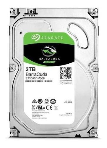 disco duro interno seagate 3tb sata 3.5 nuevo st3000dm008