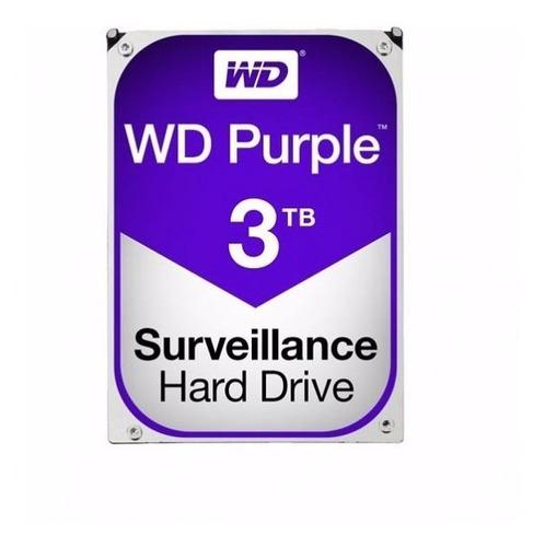 disco duro interno wd 3tb 3.5 wd30purx 64m sata3 7200rpm pur