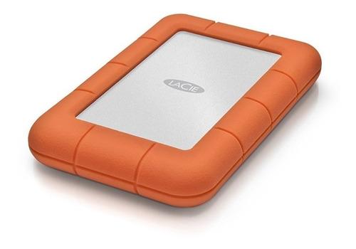 disco duro lacie rugged mini 2tb usb-c externo anti caidas