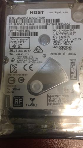 disco duro laptop 500gb nuevo 7200rpm. diferentes marcas