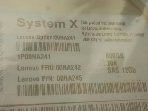disco duro lenovo 600gb 10k 12gbps 2.5 oferta negociable