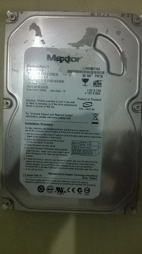 disco duro maxtor 80gb ide entre y vea!!!