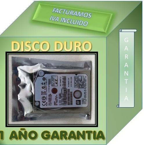disco duro para laptop hp cq42 223la 500gb garantia 1 año