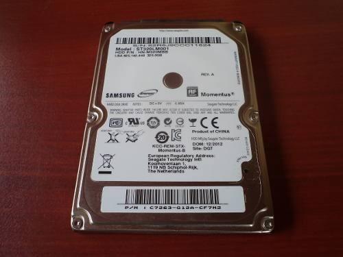 disco duro para laptop samsung seagate 320 y 250 en oferta