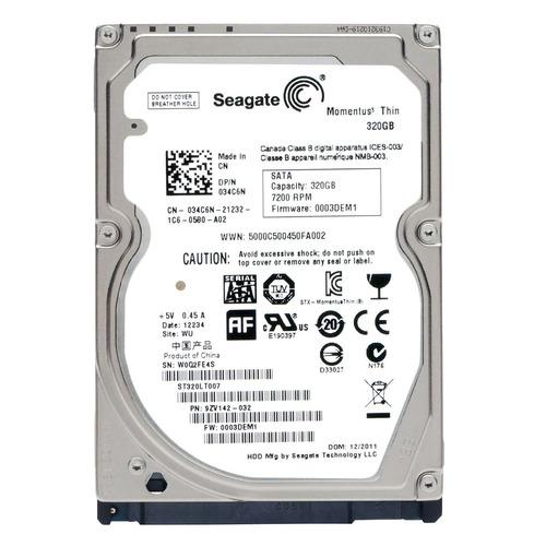 disco duro para laptop sata 320gb reacondicionados