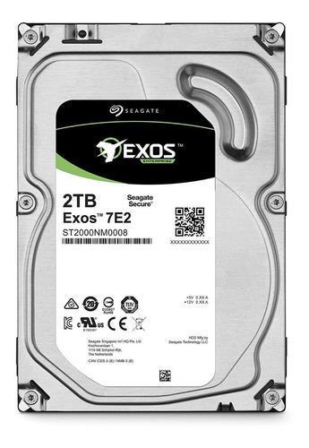 disco duro para servidor seagate exos 2tb 7.200rpm 3.5  raid