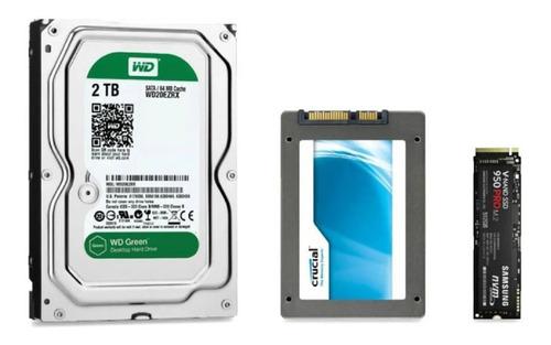 disco duro pc 2tb, 320gb, 500gb, 1tb, ssd 120,240,480,m2