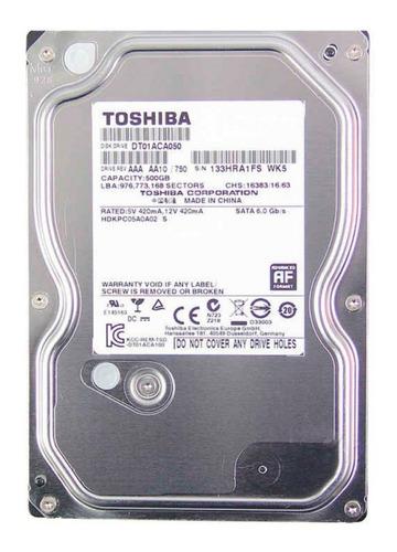 disco duro pc 500gb 7200rpm toshiba / western digital nuevo
