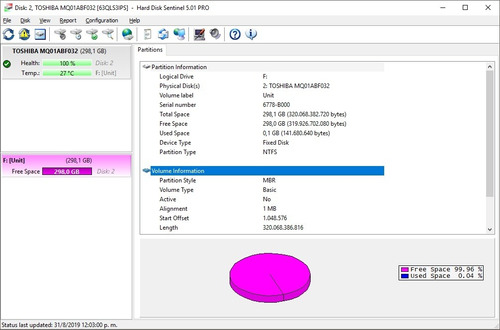 disco duro portátil 320gb