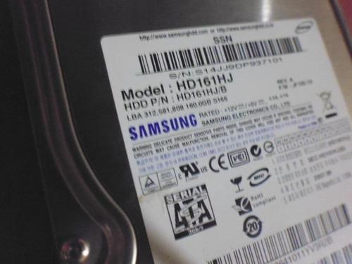 disco duro samsung 160gb + cable sata