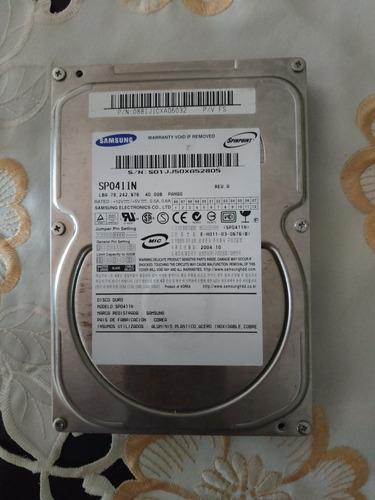 disco duro samsung 40gb