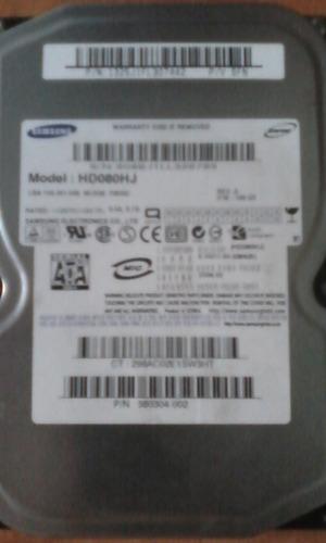 disco duro samsung 80gb