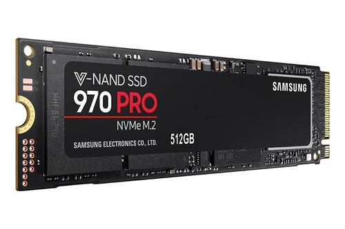 disco duro samsung 970 pro 512gb nvme pcie m.2 ssd