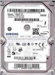 disco duro samsung sata, para laptop 320 gb