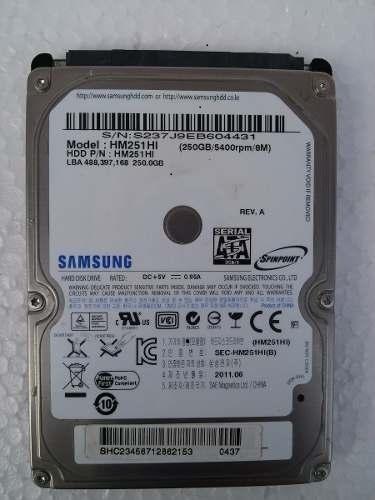 disco duro sata 250 gb laptop, pc, dvr, xbox. refurbished