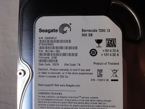 disco duro sata 500 gb seagate nuevo pa dvr circuito cerrado