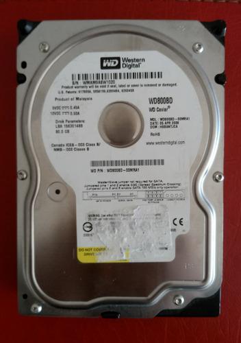 disco duro sata 80 gb