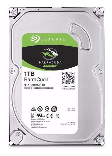 disco duro seagate 1tb 7200rpm sata3,5 nuevo pc dvr