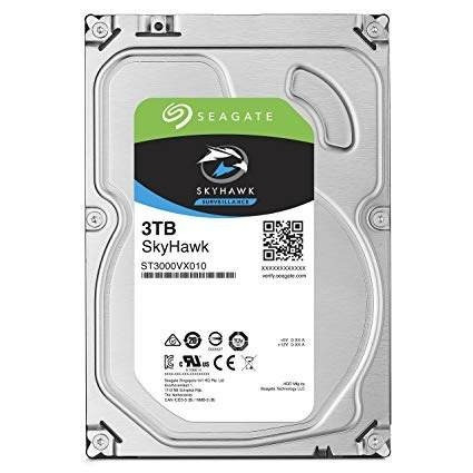 disco duro seagate 3tb skyhawk sata 3.5 pc dvr nvr