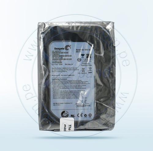 disco duro seagate 500 gb sata3.5 - 3gb/s nuevo envio gratis