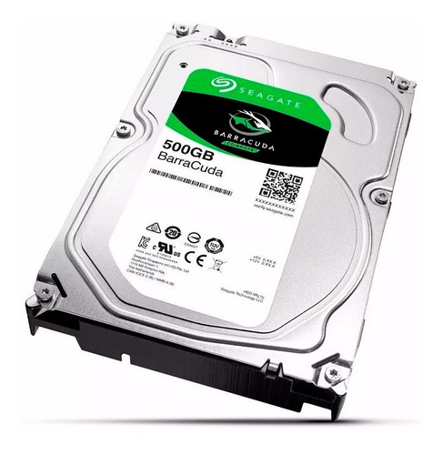 disco duro seagate 500gb 3.5 sata  interno pc
