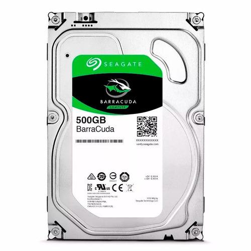 disco duro seagate 500gb 3.5 sata nuevo interno pc