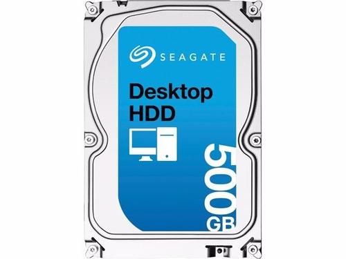 disco duro seagate de 500 gb, 7200rpm pc 3.5 sata iii