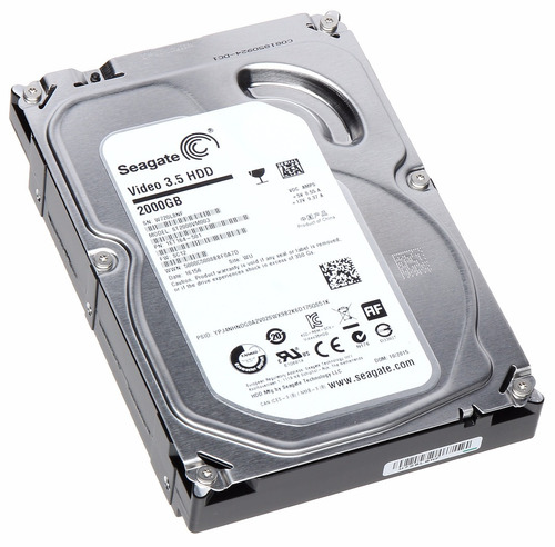 disco duro seagate pipeline hd, 2tb, sata 6.0 gb/s, 5900 rpm