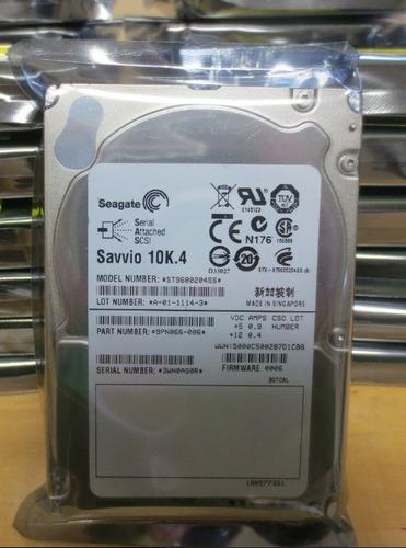 disco duro seagate savvio 10k 600gb 2.5  sas st9600204ss