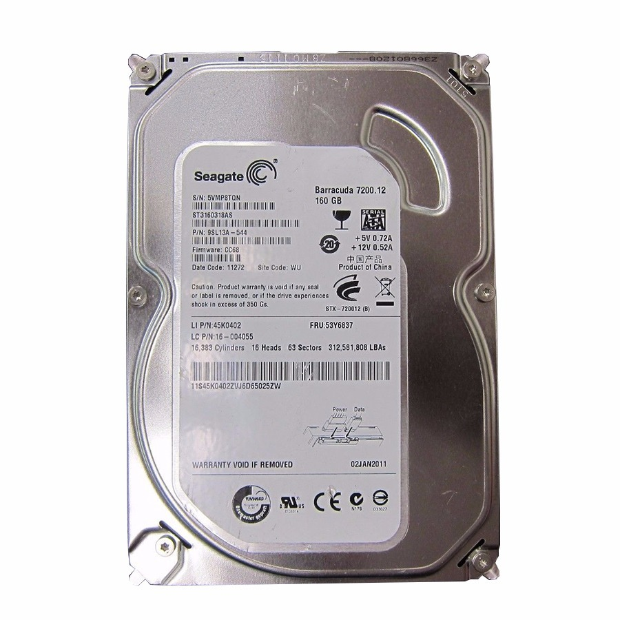 NEW DRIVERS: ST3160815AS