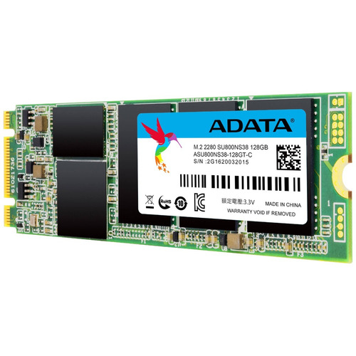 disco duro solido adata asu800ns38-128g, 128gb,ssd puerto m2