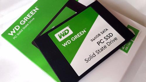 disco duro solido ssd western digital green wd 240gb 2018