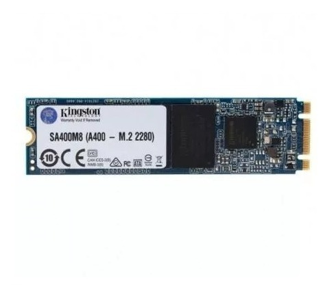 disco duro ssd m2 2280 kingston a400 240gb + envío tecnobest