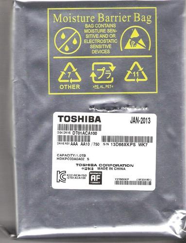 disco duro toshiba 3.5 1 tb sata3 7200rpm 32 mb p/ pc