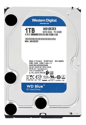 disco duro wd blue 1tb sata3 7200 rpm 2 años garantía hdd