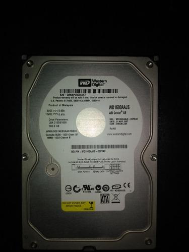 disco duro western digital 160gb