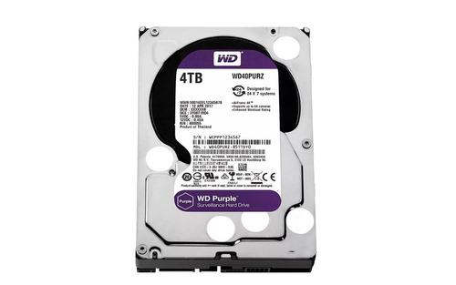 disco duro western digital 4tb purple 3.5 sata 3 nuevo dvr