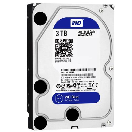 disco duro western digital blue, 3tb, sata 6 gb/s, 5400 rpm,
