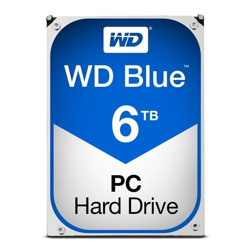 disco duro western digital blue, 6tb, sata 6 gb/s, 5400 rpm,