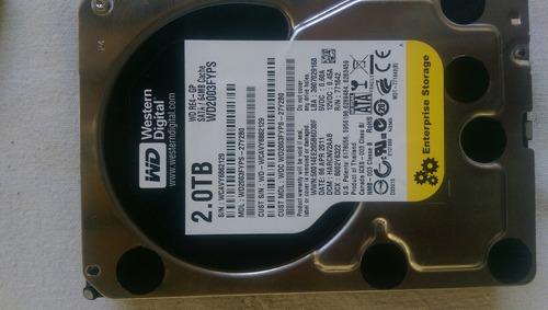 disco duro western digital sata 2 tb al 100%