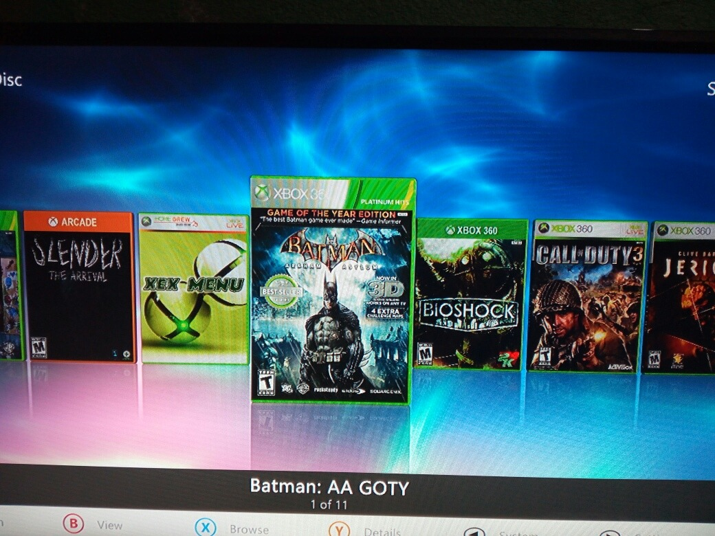 Disco Duro Xbox 360 Rgh 500gb Con 11 Juegos 550 00 En Mercado Libre