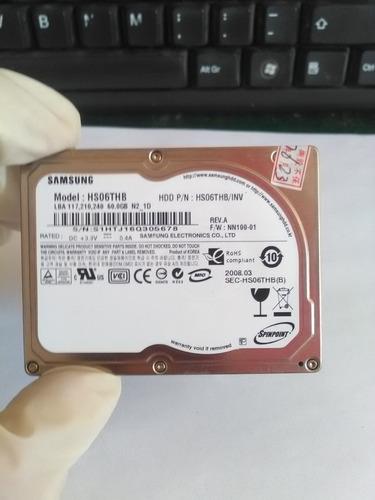 disco duro zif samsung hs06thb de 60 gb para mini-lap.