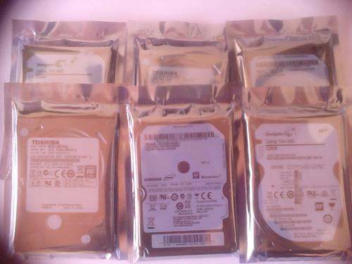 disco duros laptop sellados de 250gb con garantia