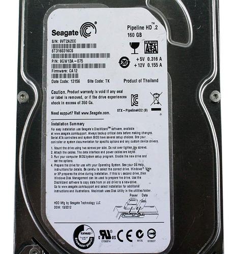 disco duros para pc hd sata2 160gb seagate nuevos!!!