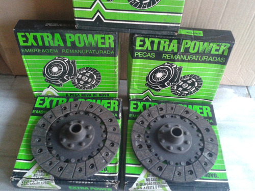 disco embreagem fusca bras 1300 180mm extrapower 10 discos