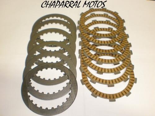 disco embreagem + separadores honda xr 250 tornado original