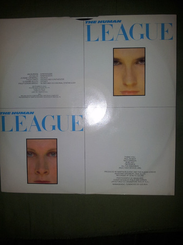 disco en vinyl 12'' importado the human league - dare (1981)